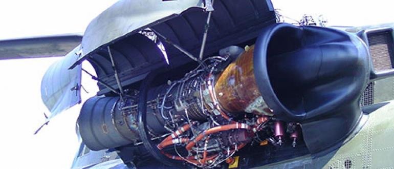 Aerospace Gas Turbine Engine Turboshaft